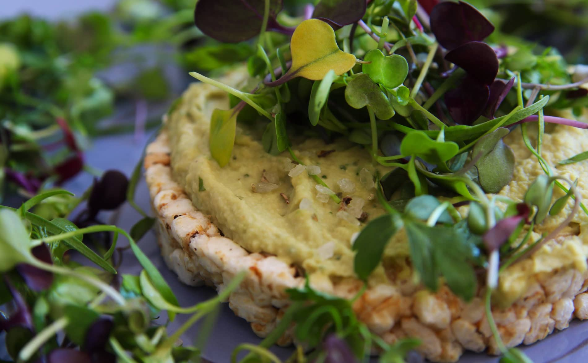Basilikum Hanf Hummus