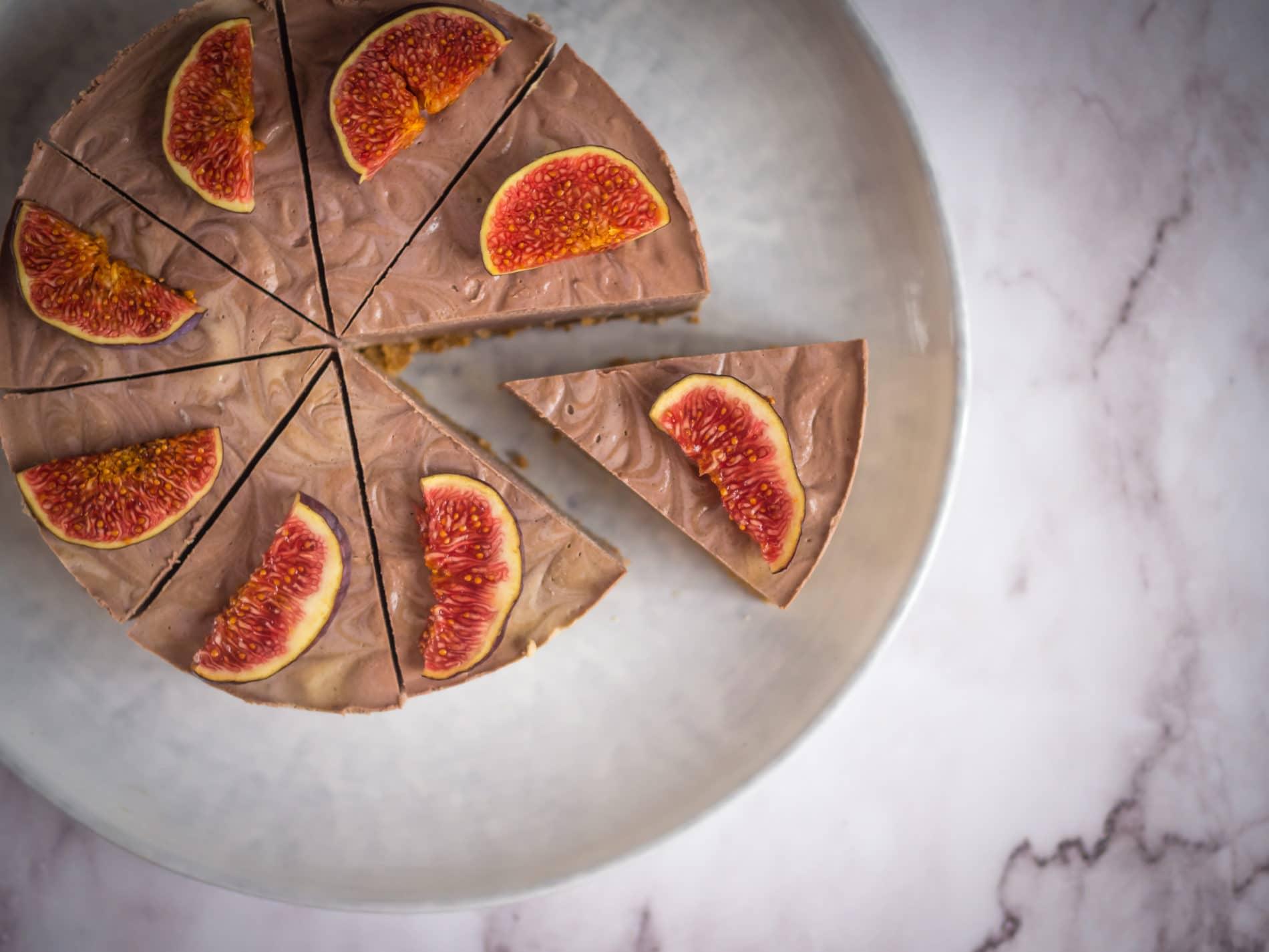 Feigen Vanille Torte…den Herbstbeginn versüßen.