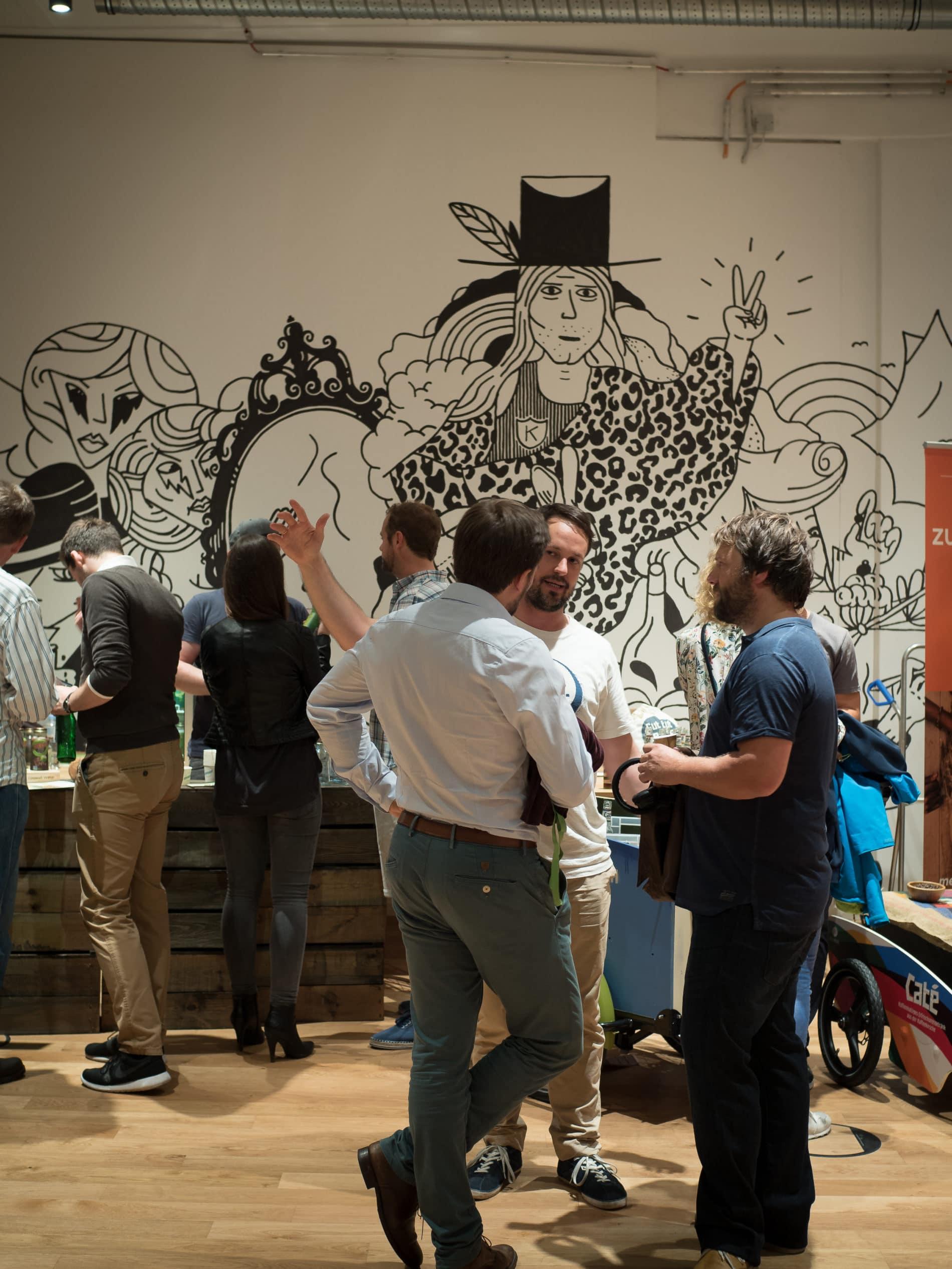 Zu Besuch auf der Hamburgs Startups Foodmixer