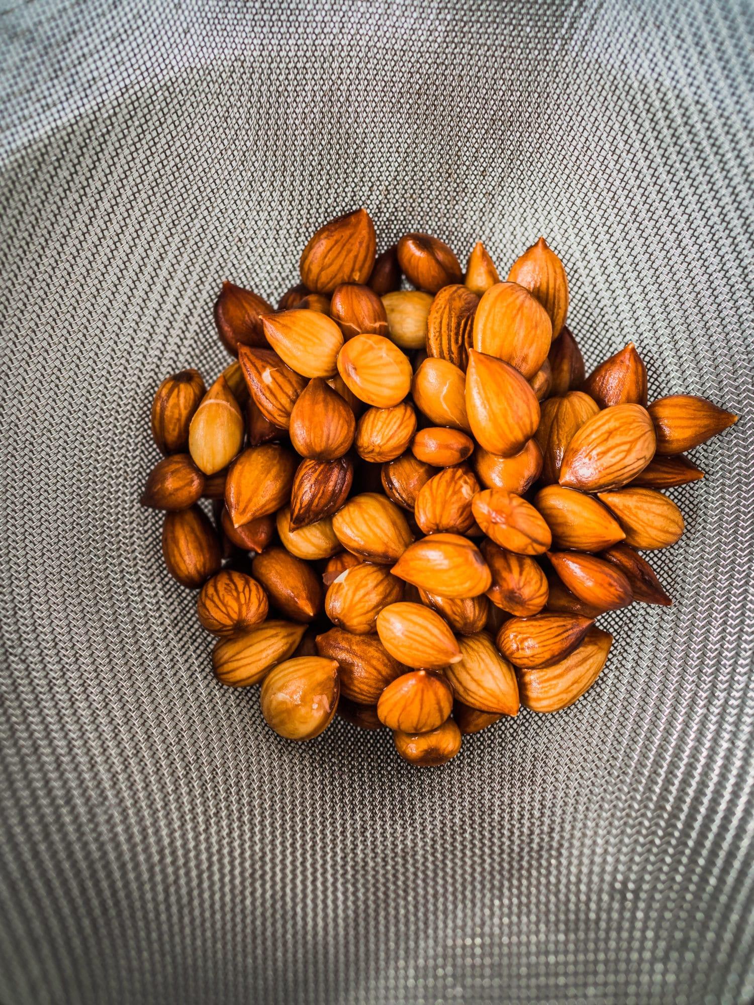 süsse Aprikosenkerne
