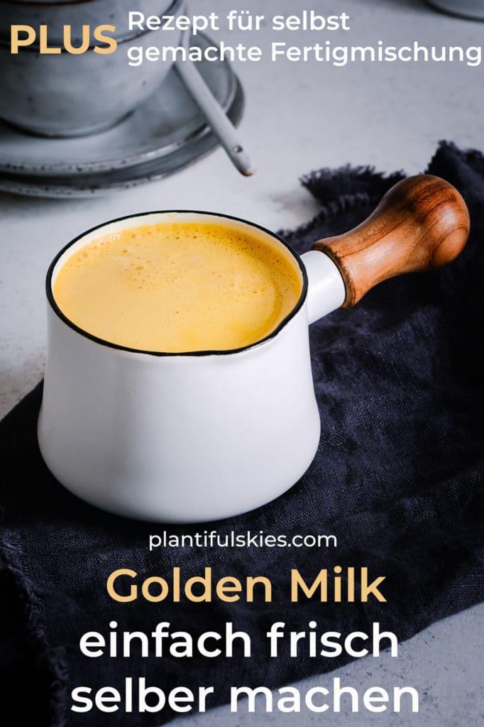 Goldene Milch Rezept. Golden Milk. Kurkuma Latte. Veganes Ayurveda Rezept. & alles über die Wirkung. Wann trinken? #ayurveda #abnehmen #kurkuma #ingwer #gesunderezepte #happymoodfood