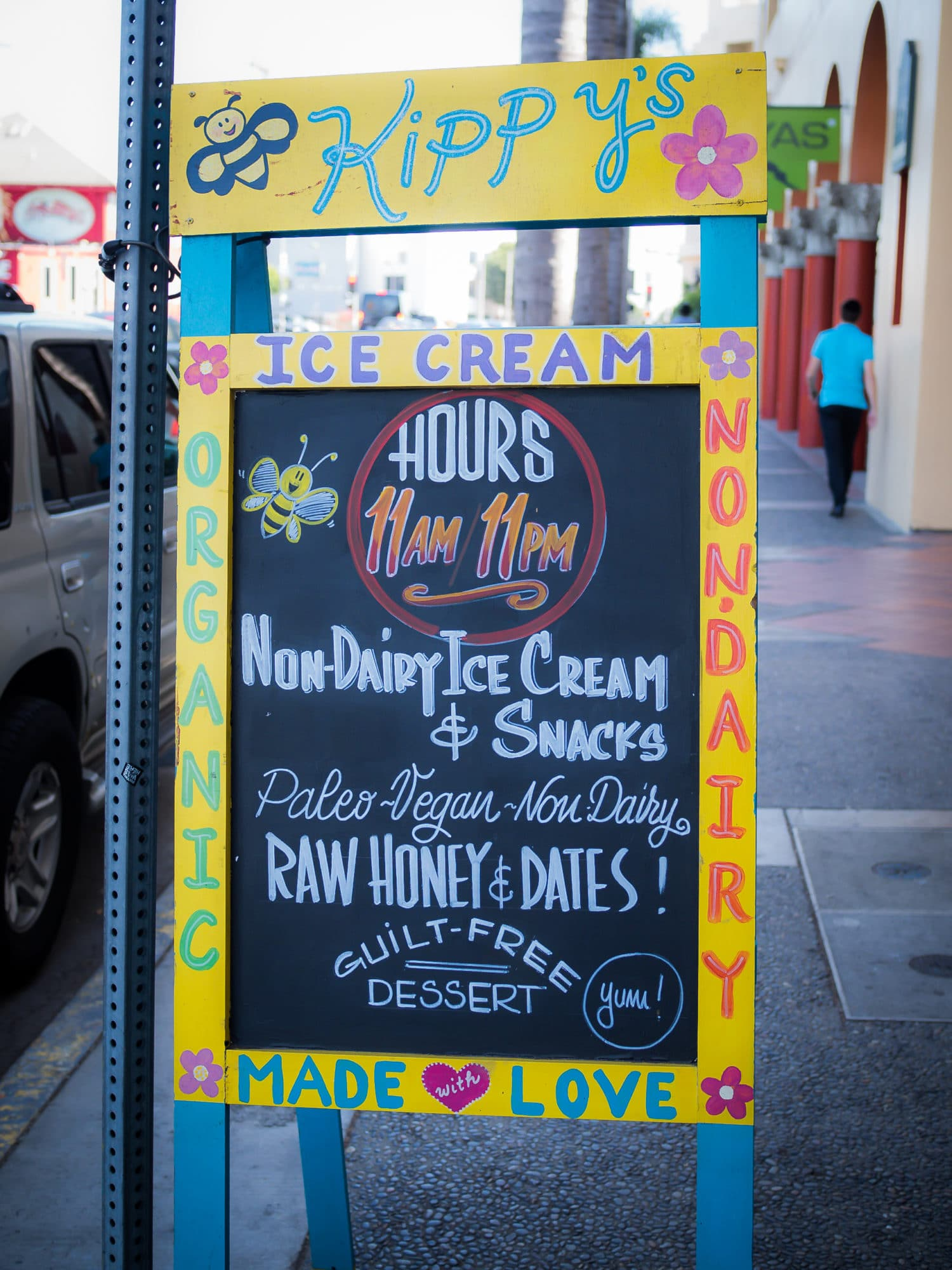 Quick Tipp Los Angeles : Kippy´s Raw Icecream