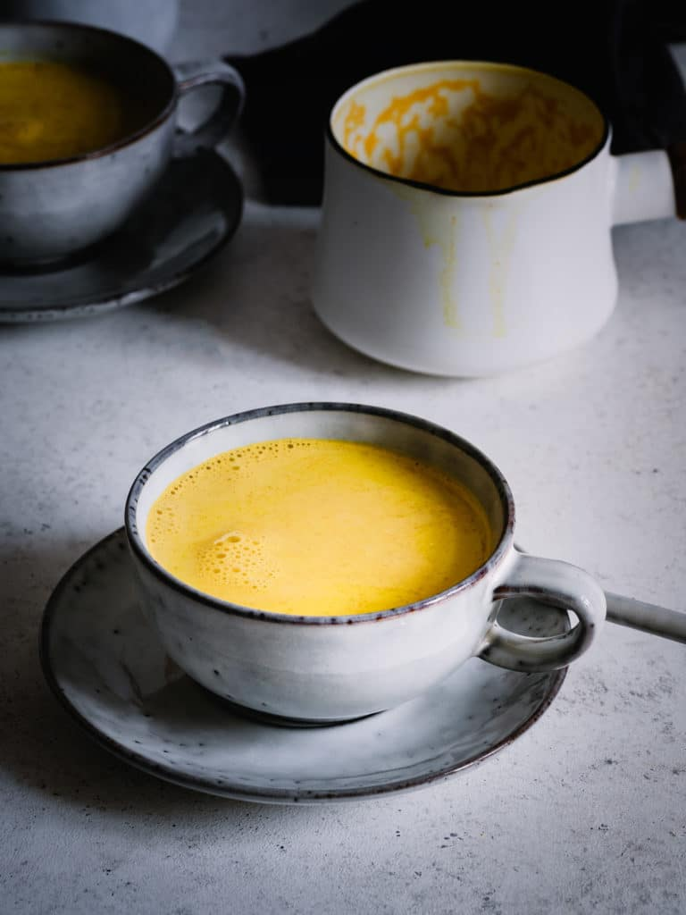Golden milk r´rezept vegan