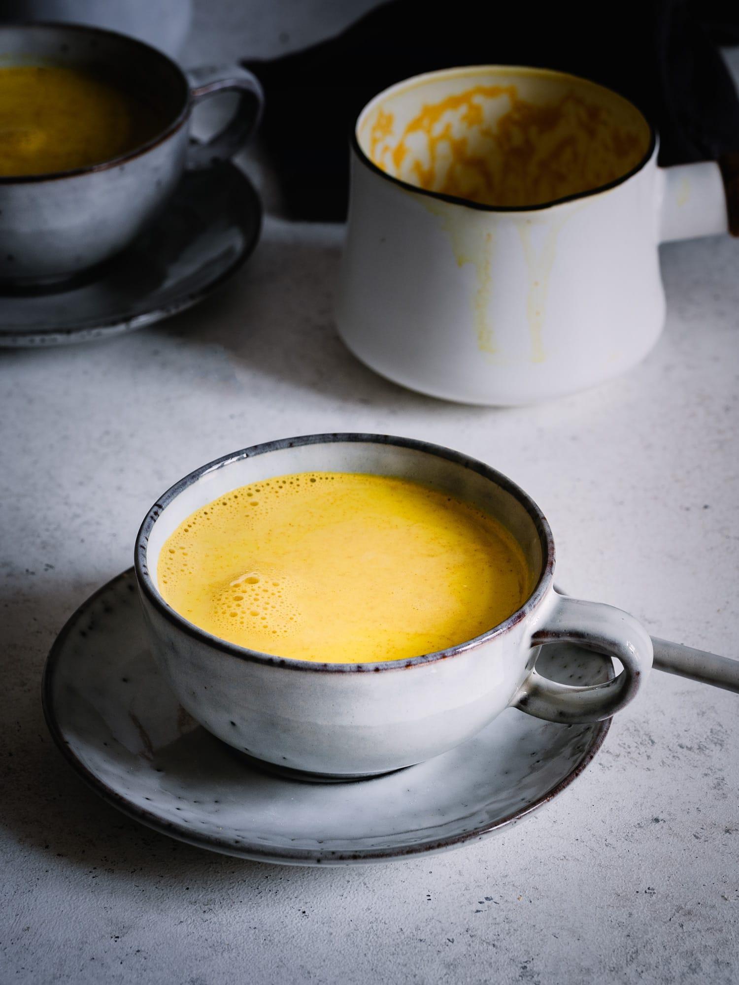 Golden milk rezept vegan