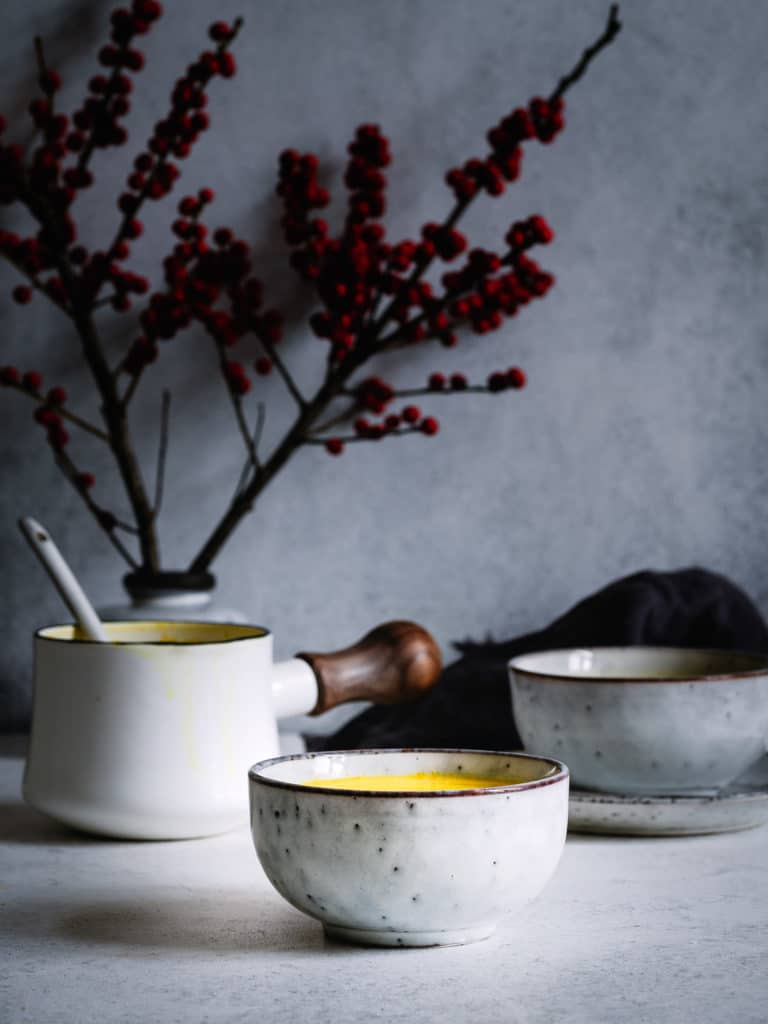 Golden Milk in der Tasse