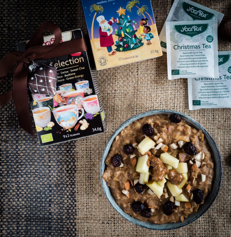 Oatmeal und Yogi Tea-eine perfekte Verbindung!