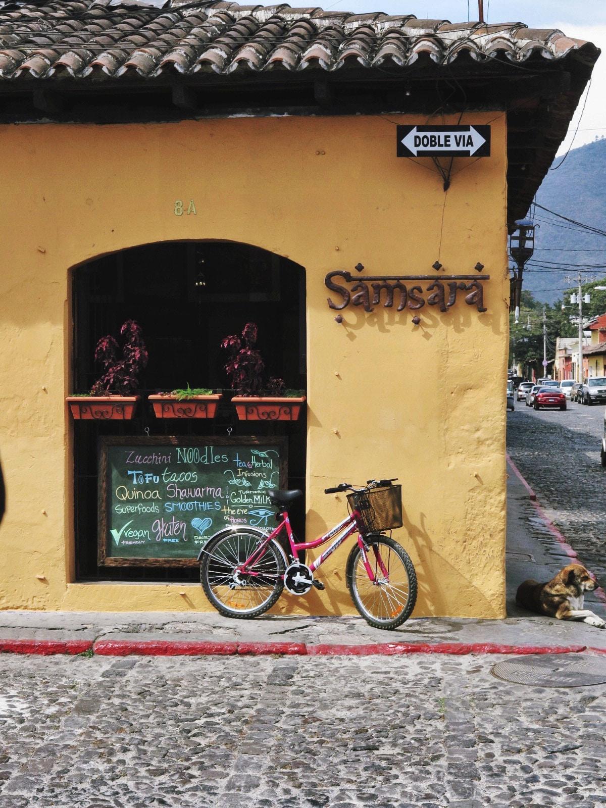 Cafe Samsara, Antigua Guatemala