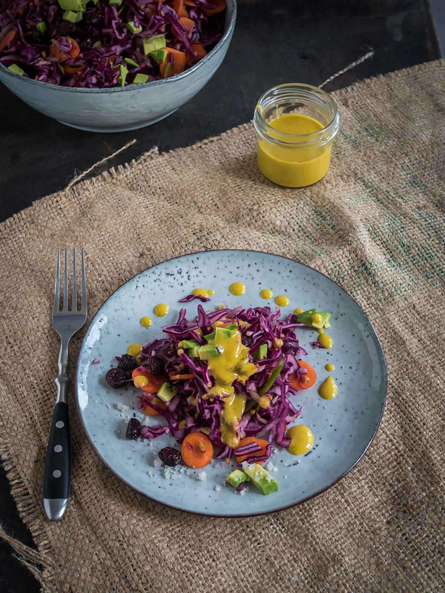 winterlicher Krautsalat