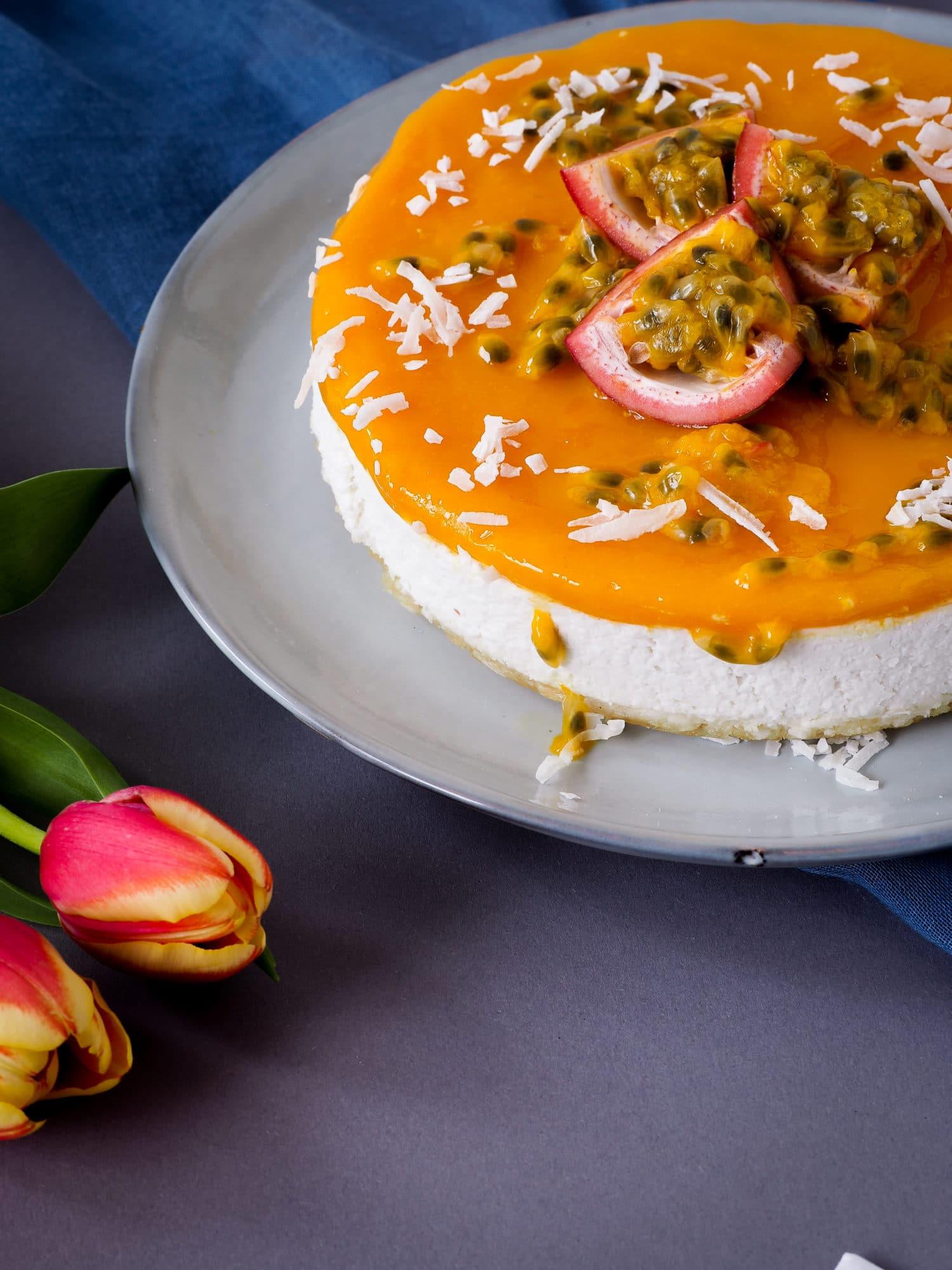 Mango-Passionfruit Cake