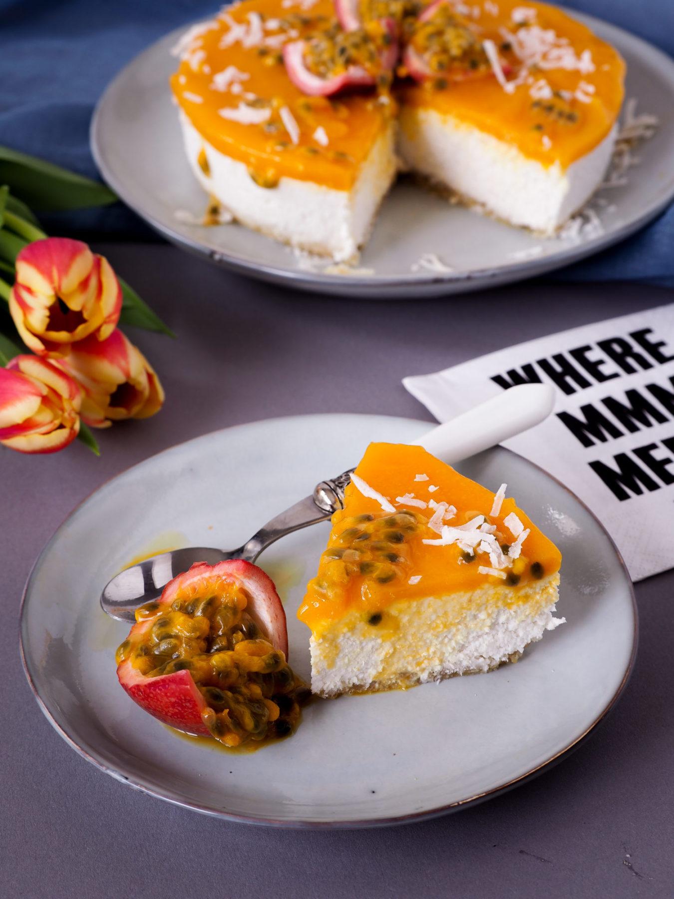 Mango-Kokos-Kuchen