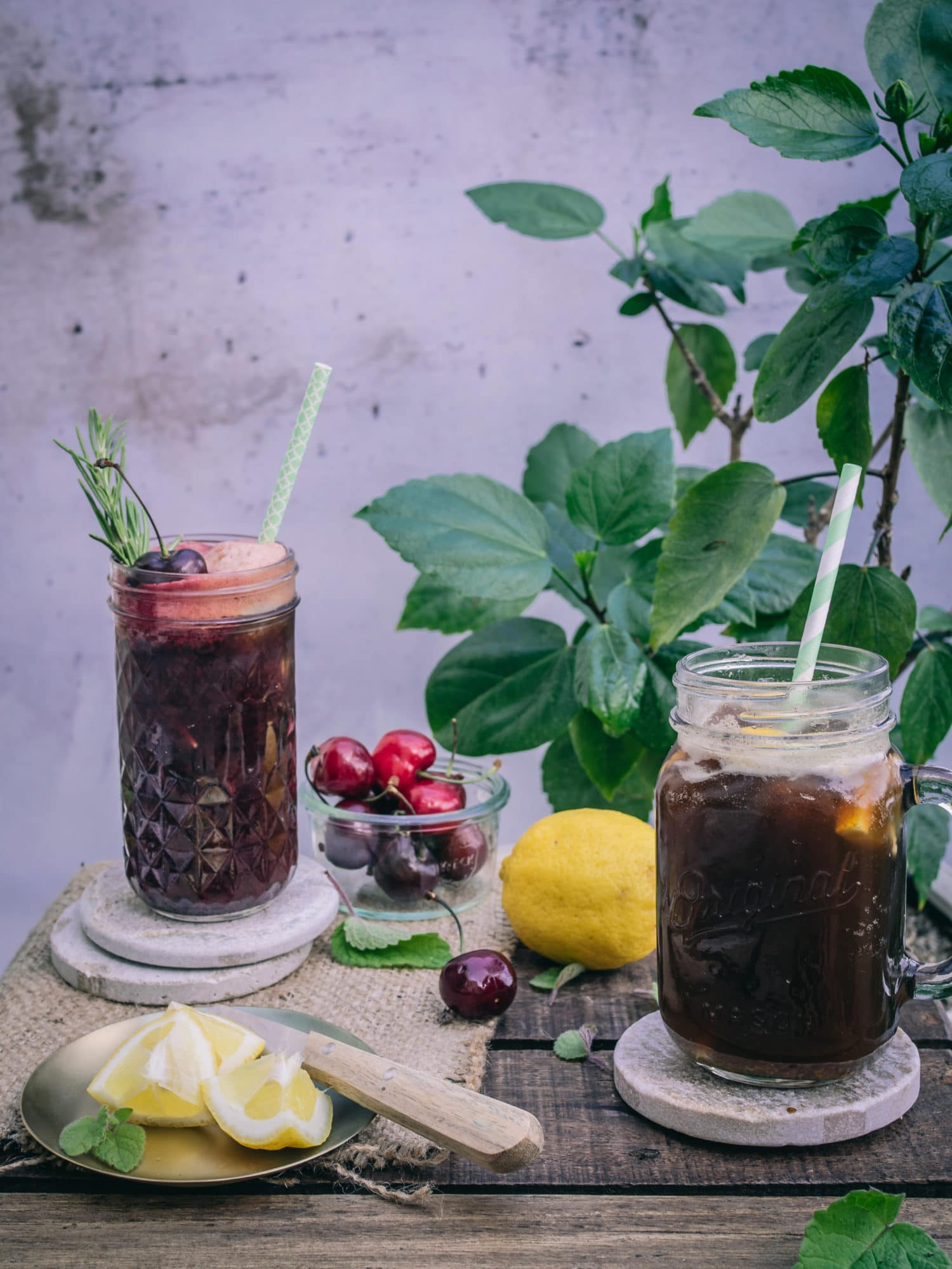Kaffee Limonade