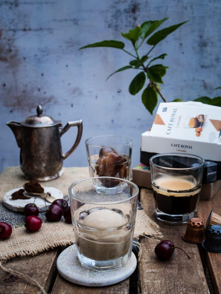 Nicecream Eiskaffee mit Cafe Royal