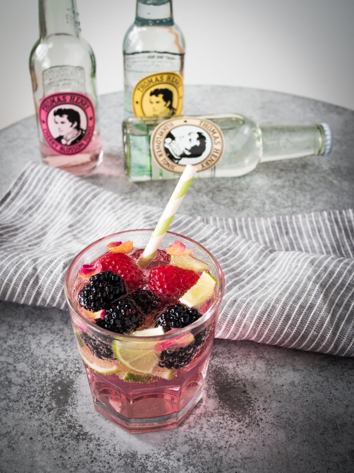 Pink Rosewater Gin&Tonic