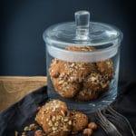 Feine Joghurt Nuss Kekse im LEONARDO Glas