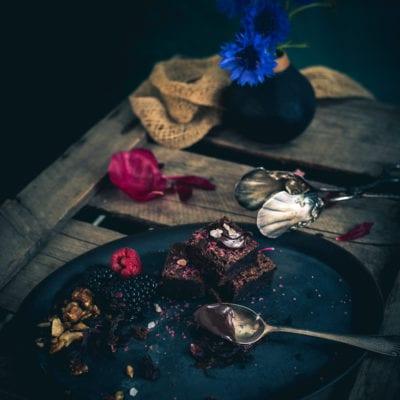 Dinkel Brownies, eine schokoladig vollwertige Nascherei