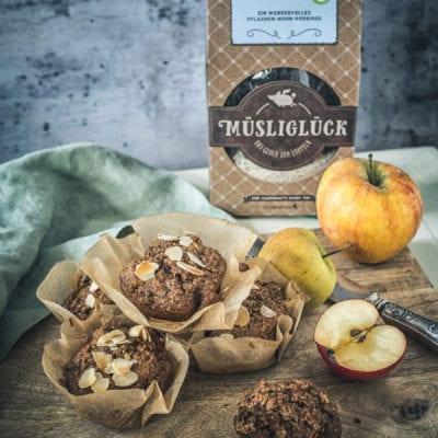 Porridge Muffins – Müsliglück zum mitnehmen.