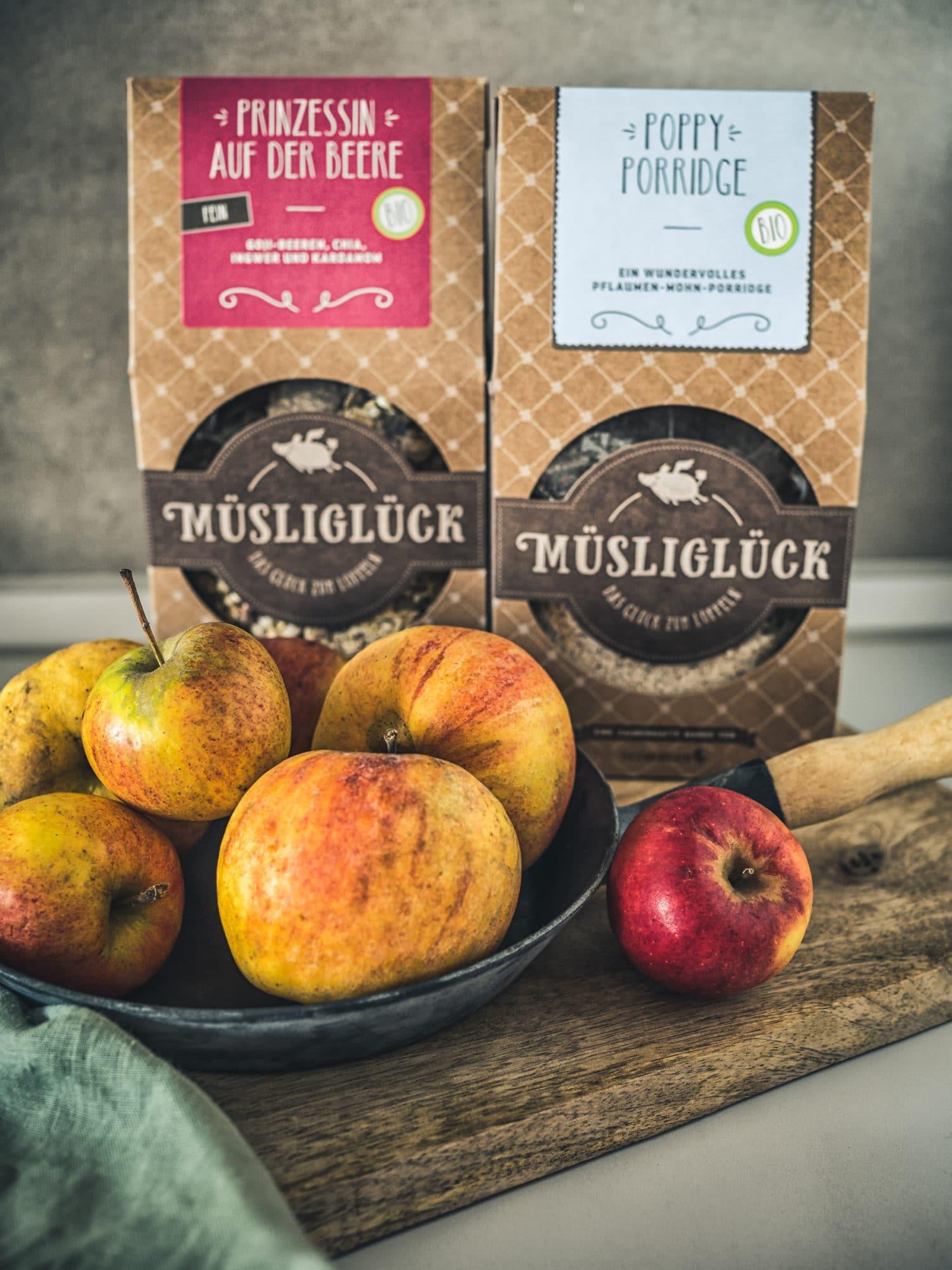 Muesliglueck für Porridge Muffins