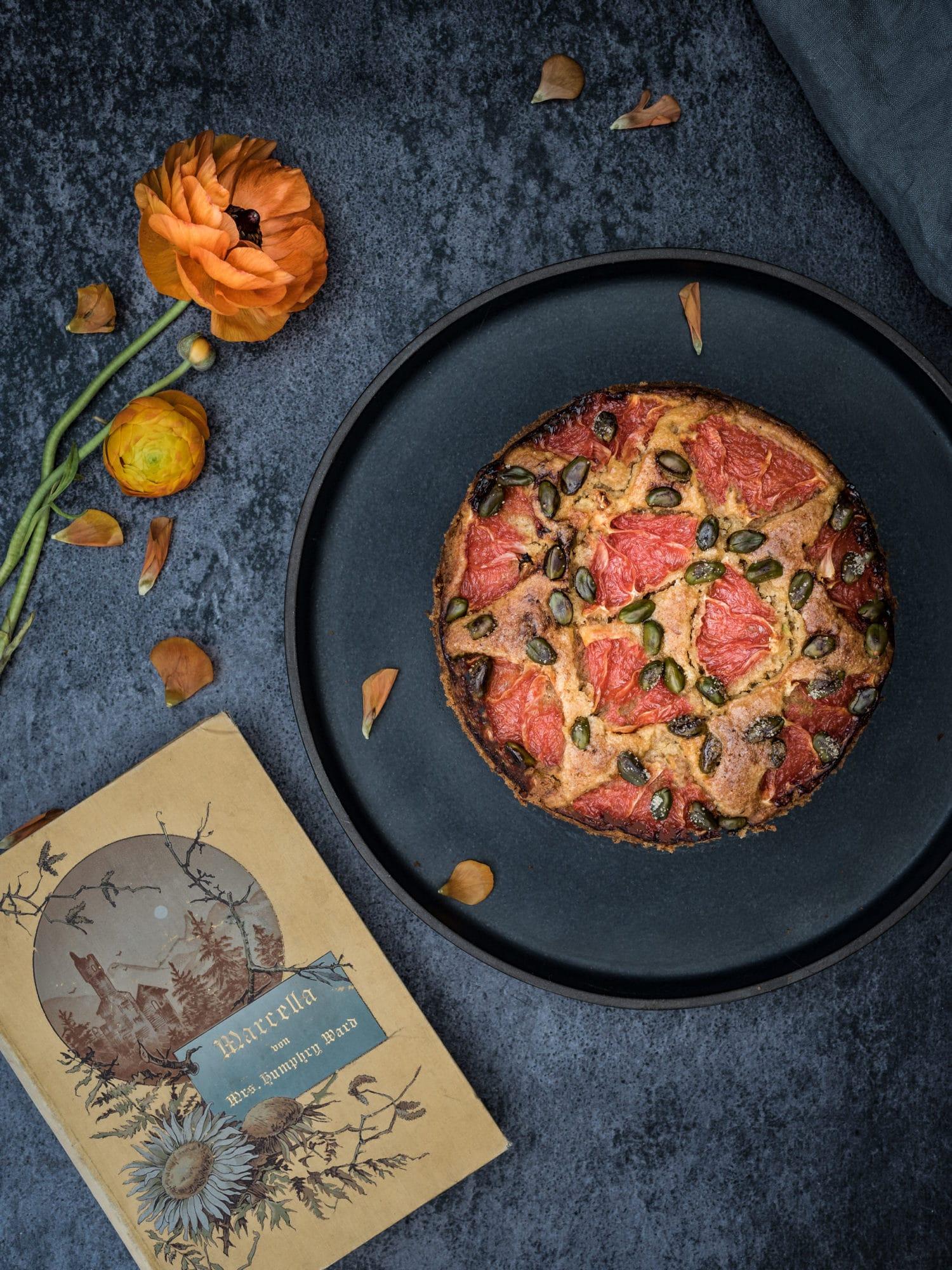 Grapefruit Kuchen auf orientalische Art