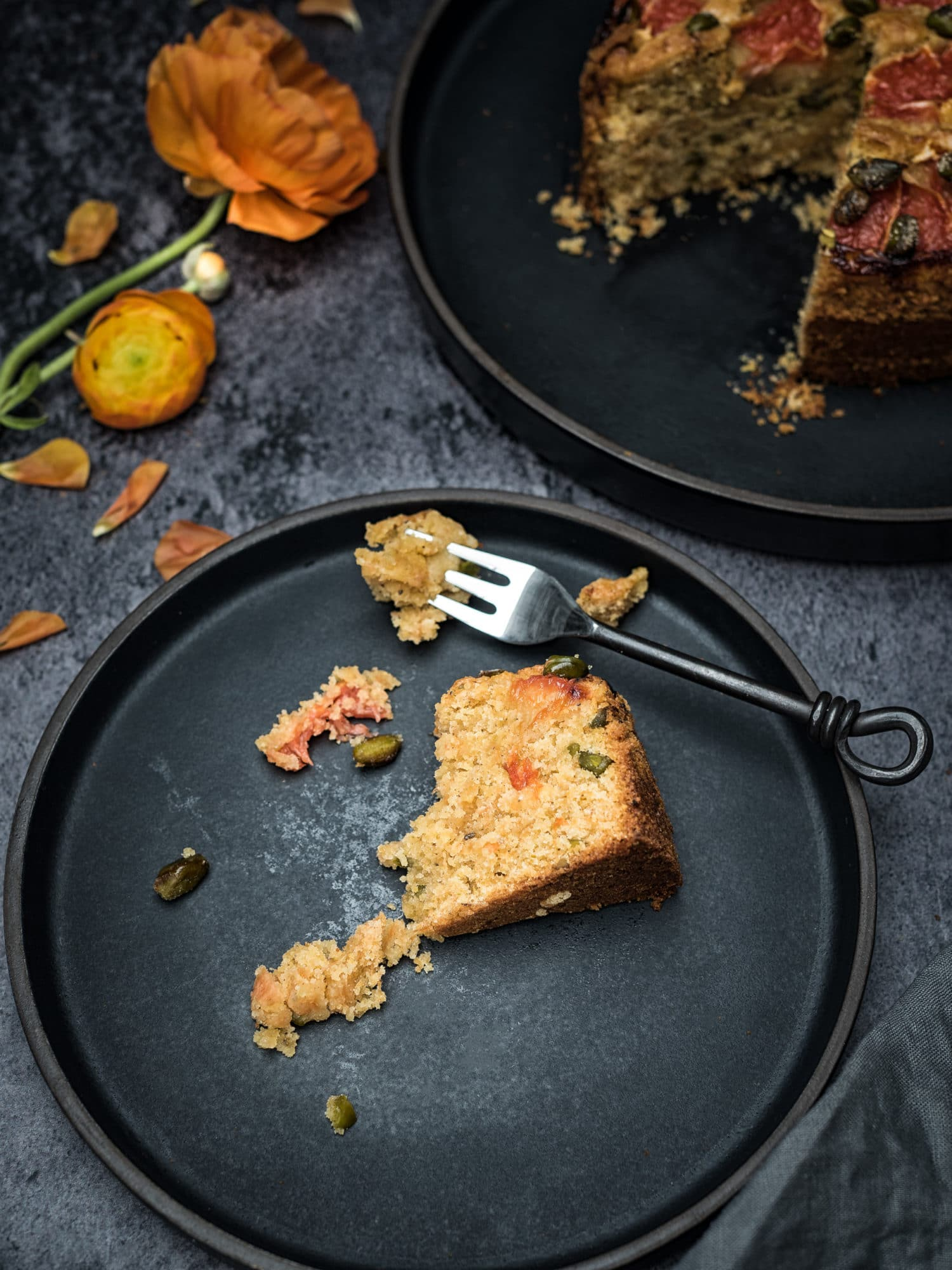 veganer Grapefruit Kuchen aus dem nahen Osten