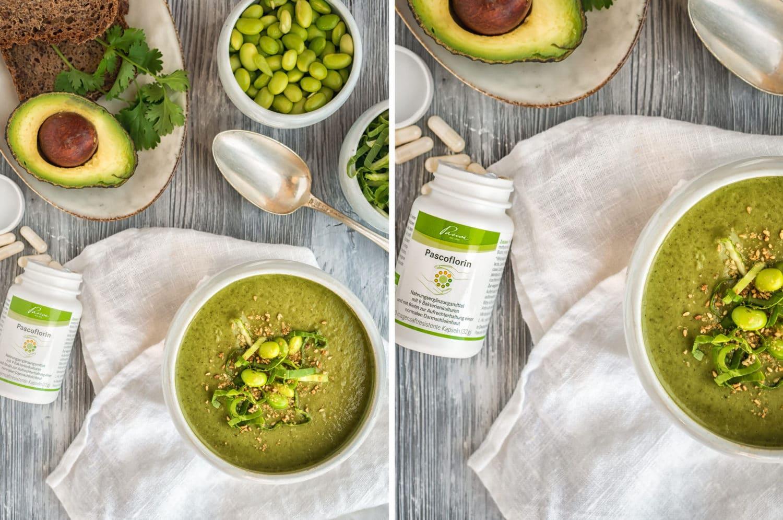 Ayurveda Suppe mit extra Protein, vegan