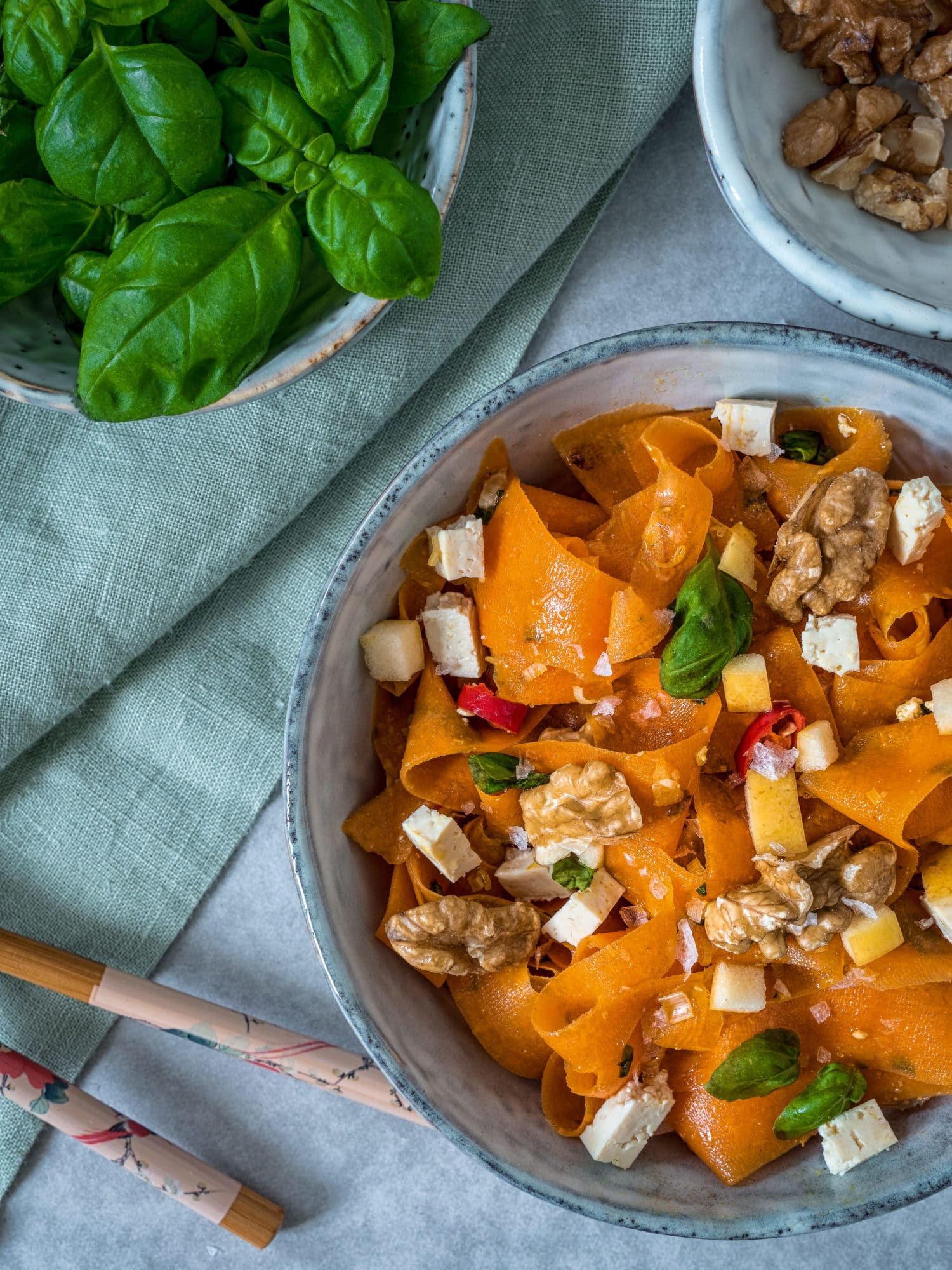 Meal Prep: Ayurveda Karottensalat