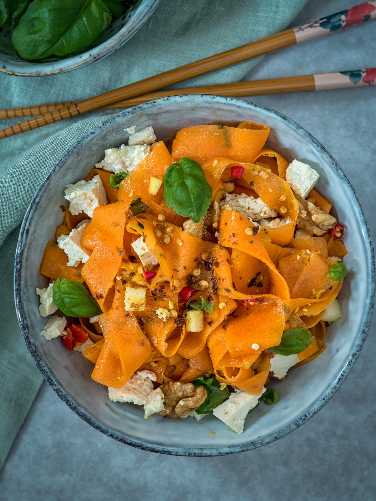 Ayurveda Karottensalat, ein tolles Sommer Rezept