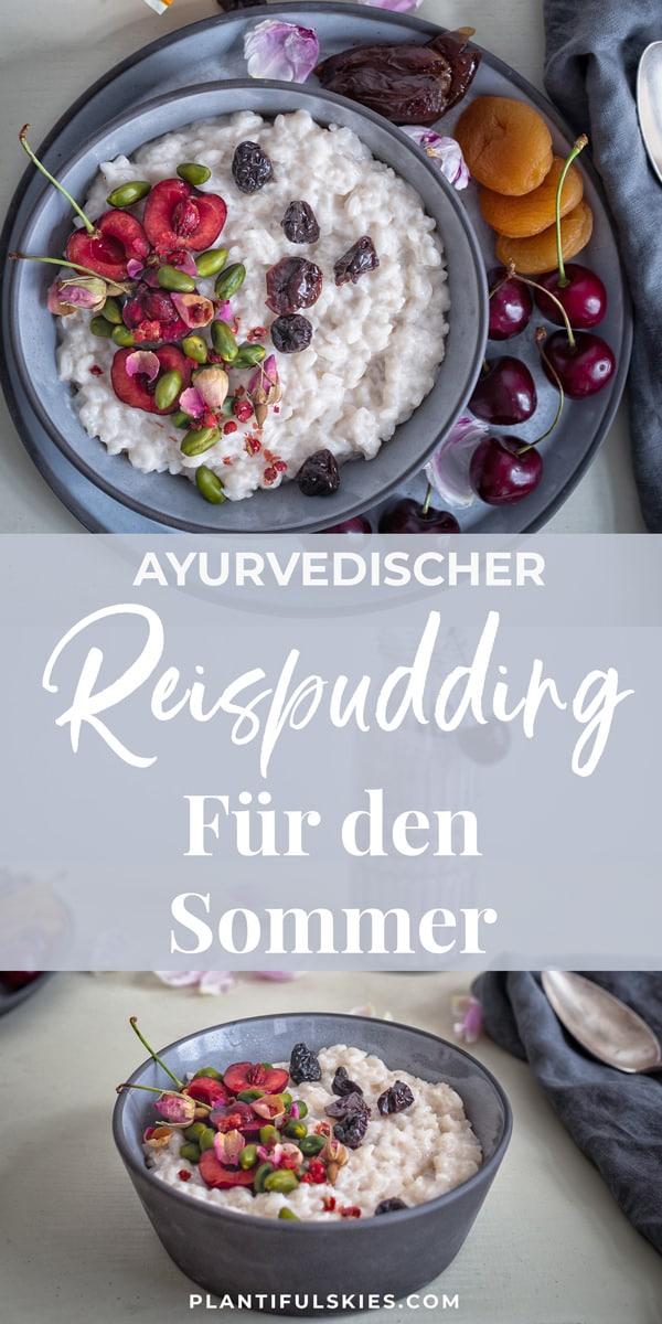 Ayurvedischer Reispudding
