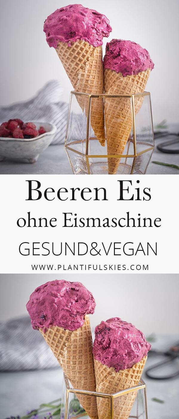 veganes Beereneis mit Kardamom