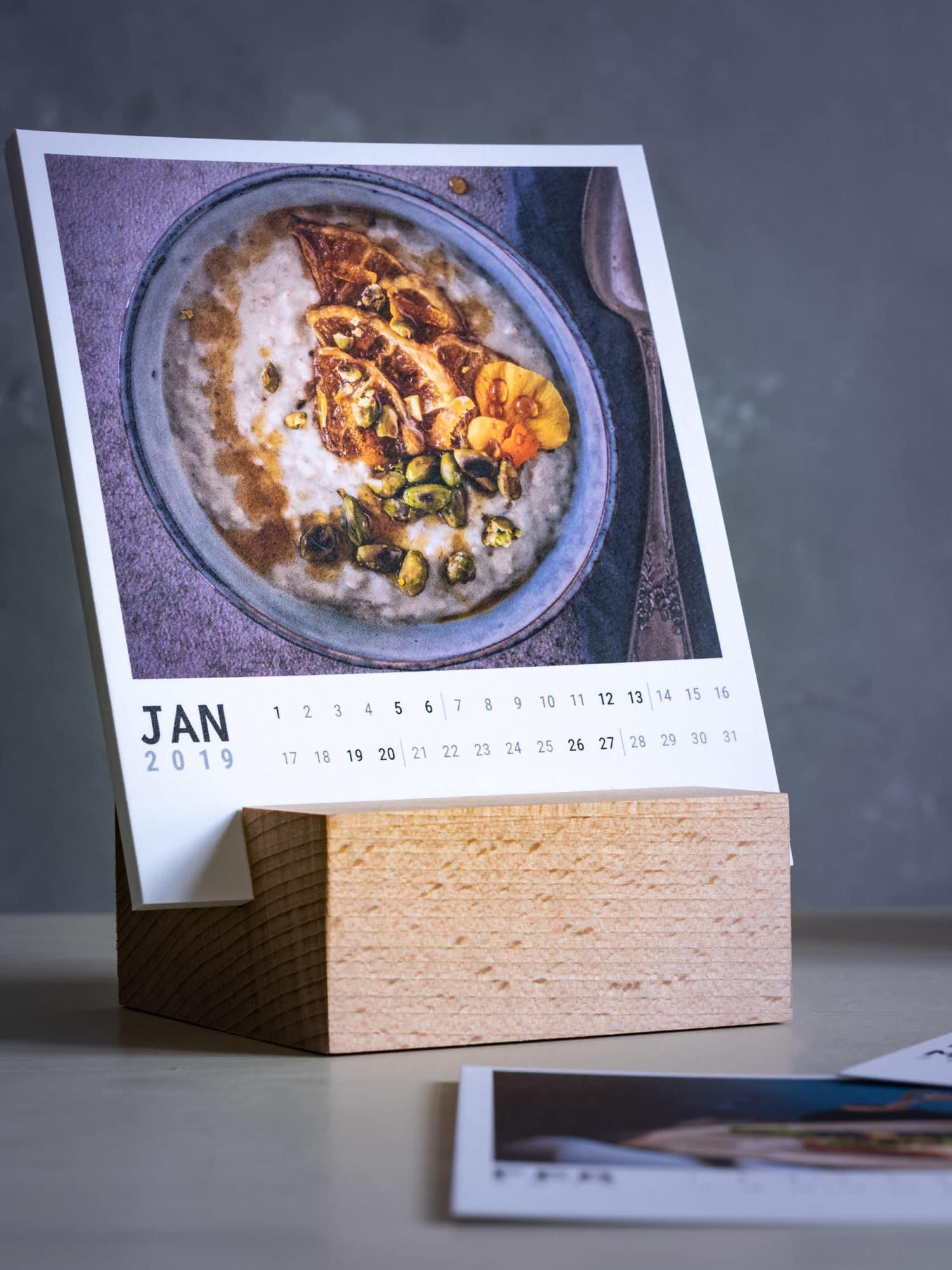 Nahaufnahme Kalenderblatt Janua