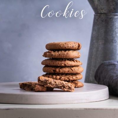 Schnelle und gesunde Erdnussbutter-Dattel Kekse