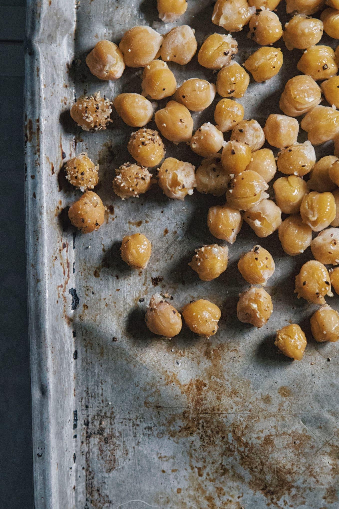 Kichererbsen für Hummus Suppe- gesundes einfaches Rezept