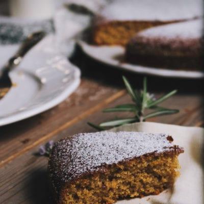 Italienischer Mandelkuchen – perfekt nicht nur zu Weihnachten.
