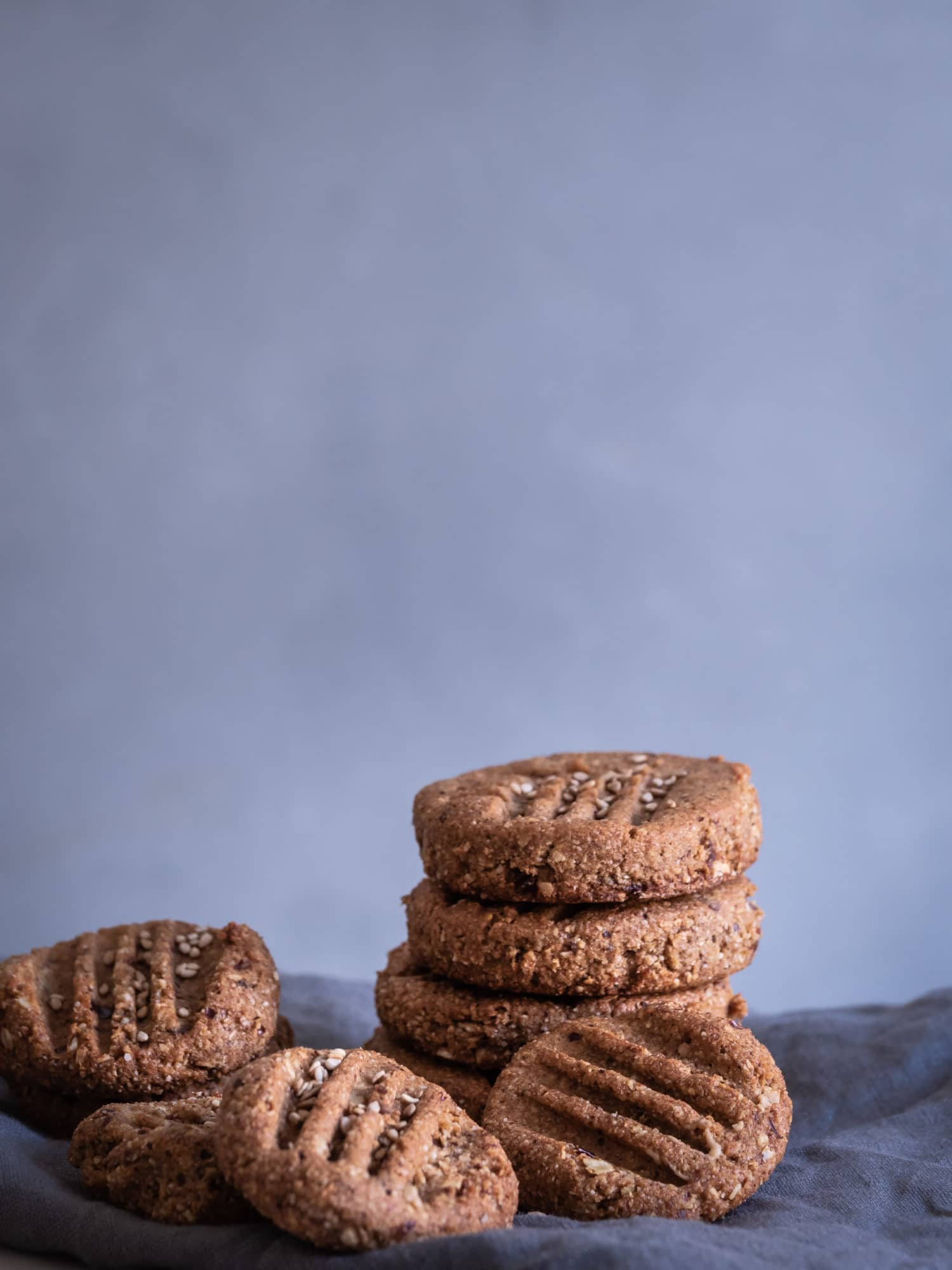 Tahina Kardamom Kekse – Nussfrei & glutenfrei