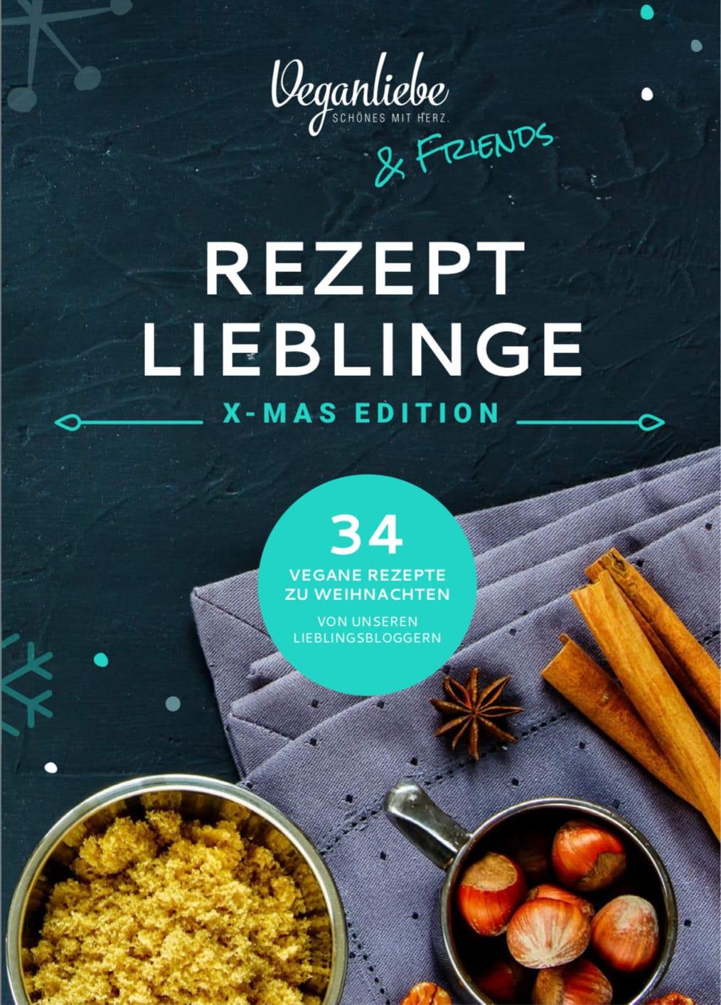 Vegane-Rezepte für Weihnachten- kostenloses Ebook veganer Foodblog happy mood food