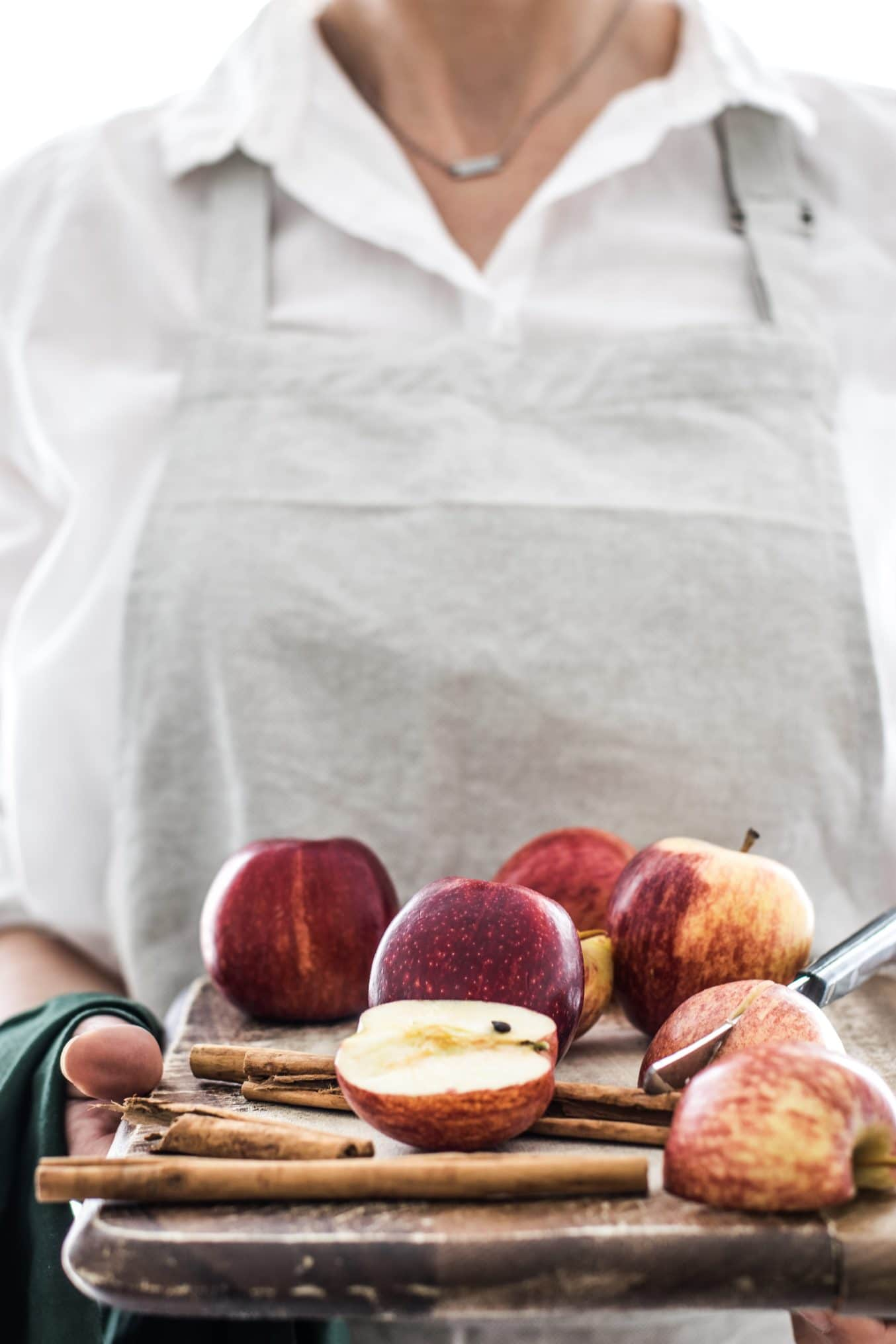 Zimt Äpfel. Ein Rezept zum Einkochen