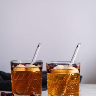 Eine Kindheitserinnerung: alkoholfreie Sinalco Apfel Bowle