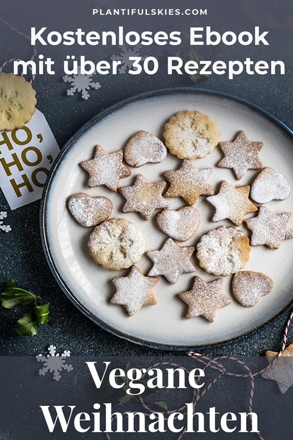 34 vegane Weihnachtsrezepte. Von Herzhaft über Backen bis Nachspeisen. Einfache und tolle Rezepte für Weihnachten . #vegan #feiertage #kochen #foodblogger