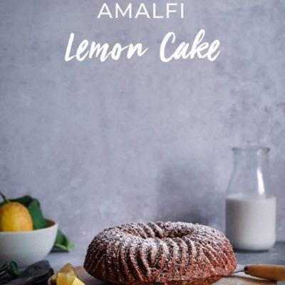 Saftig süßer Amalfi Zitronenkuchen