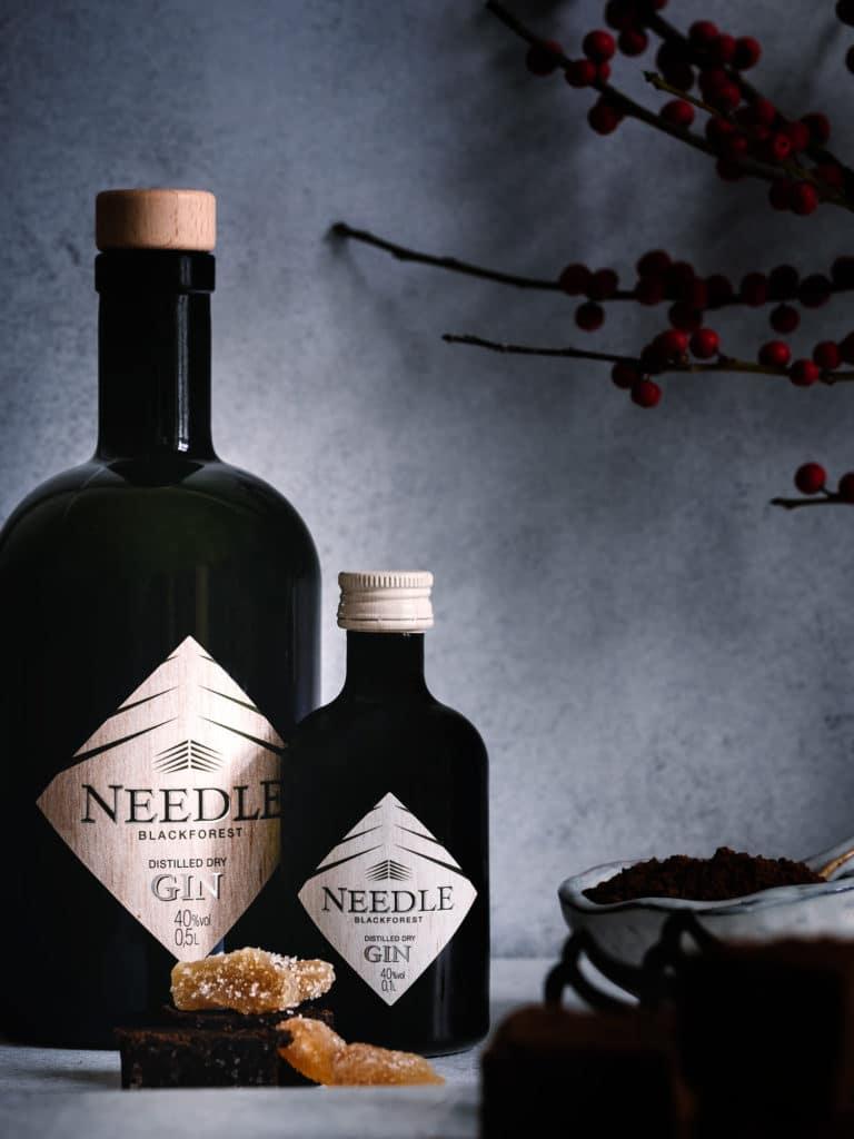 Needle Gin Flaschen