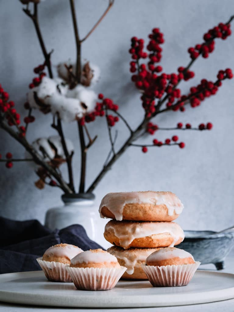 VEgane Donuts und Mini Muffins