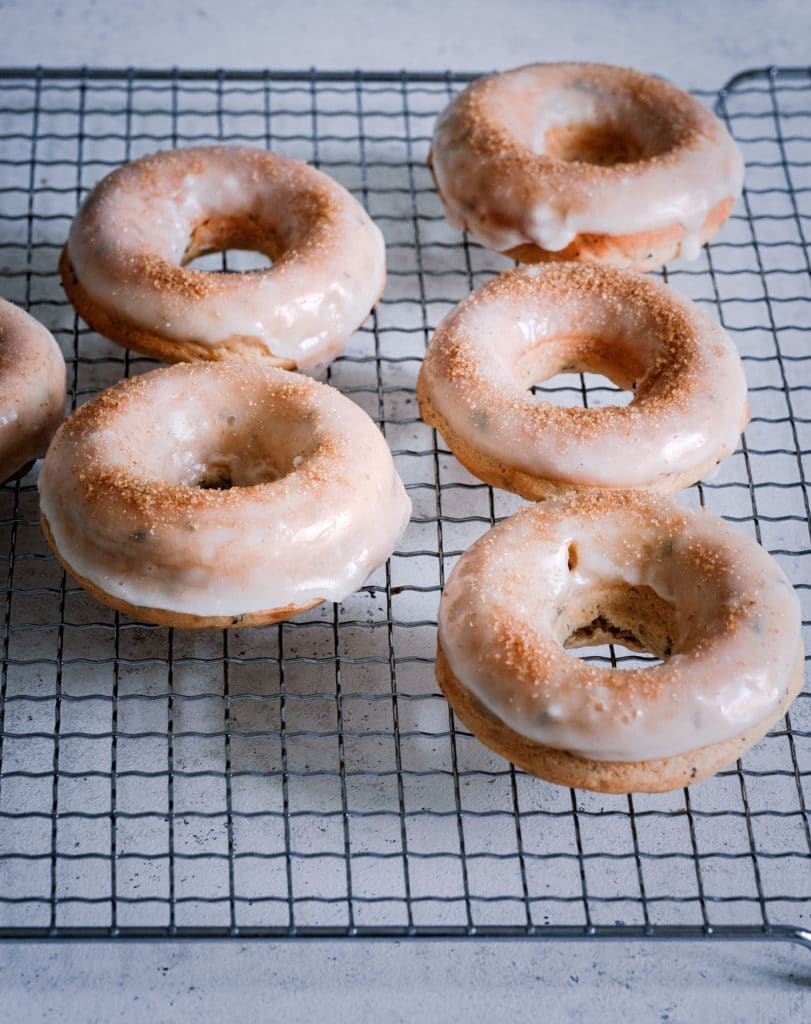 Vegane Donuts aus dem Backofen