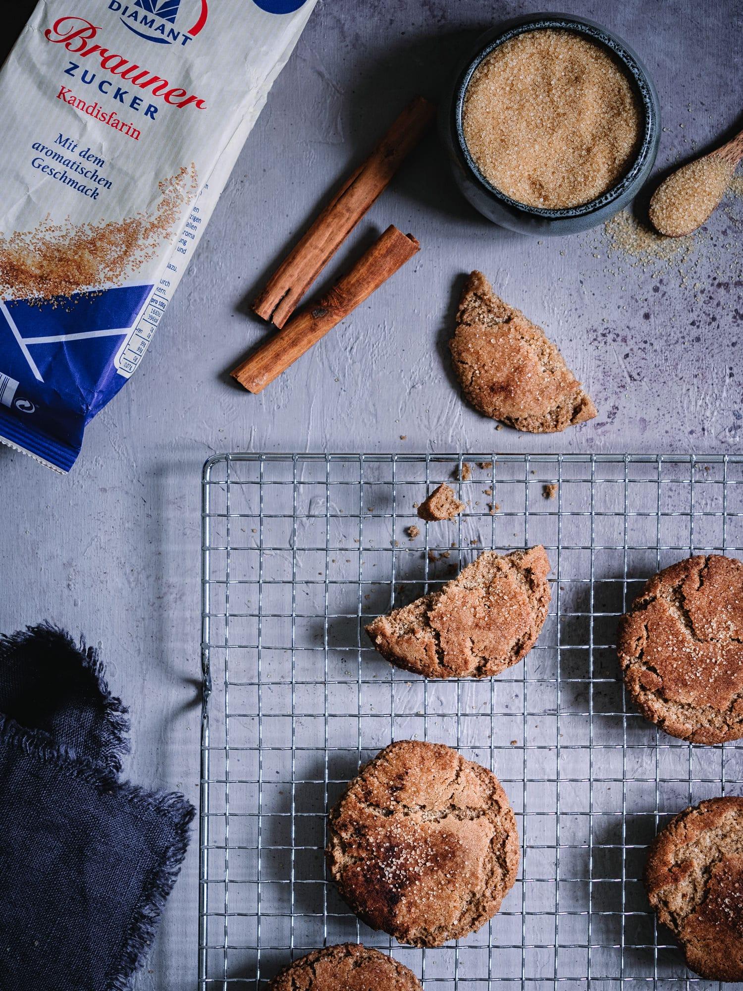Schnelle Snickerdoodles – Kekse mit Zimt und Zucker