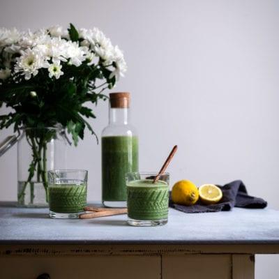 Chlorella & Spirulina Smoothie mit Bioalgen von GSE
