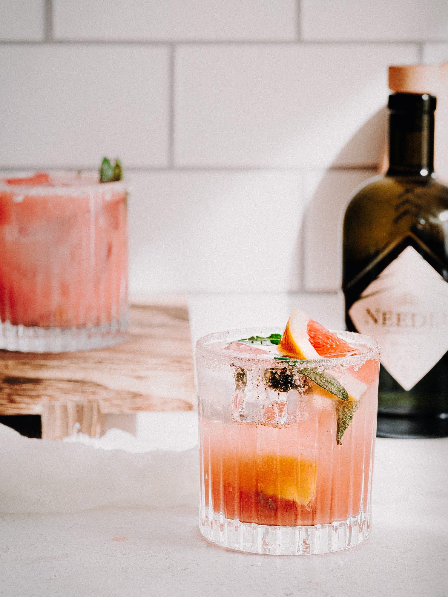 Gin Tonic Rezept mit Needle Spring Gin