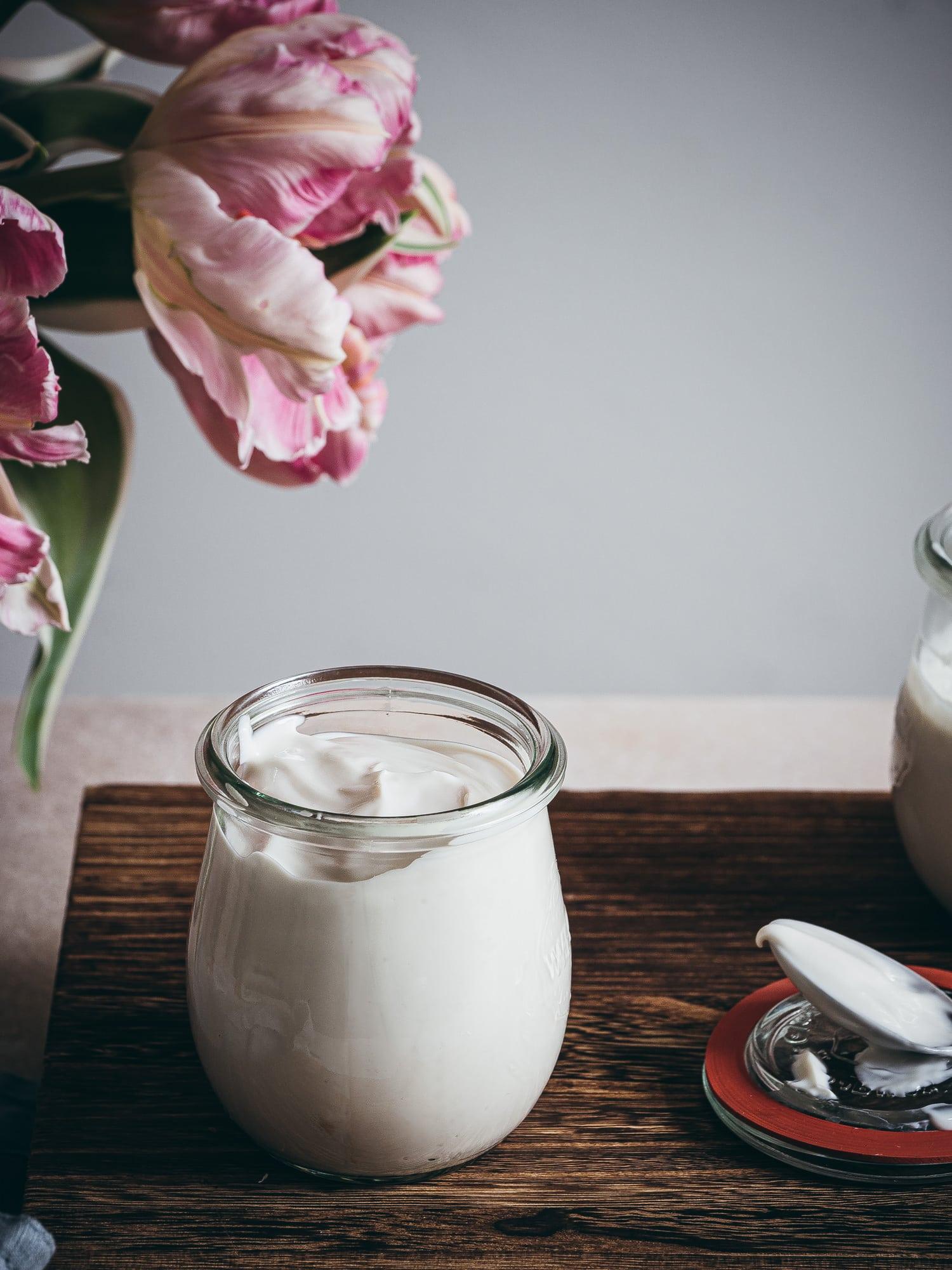 selbst gemachter Joghurt