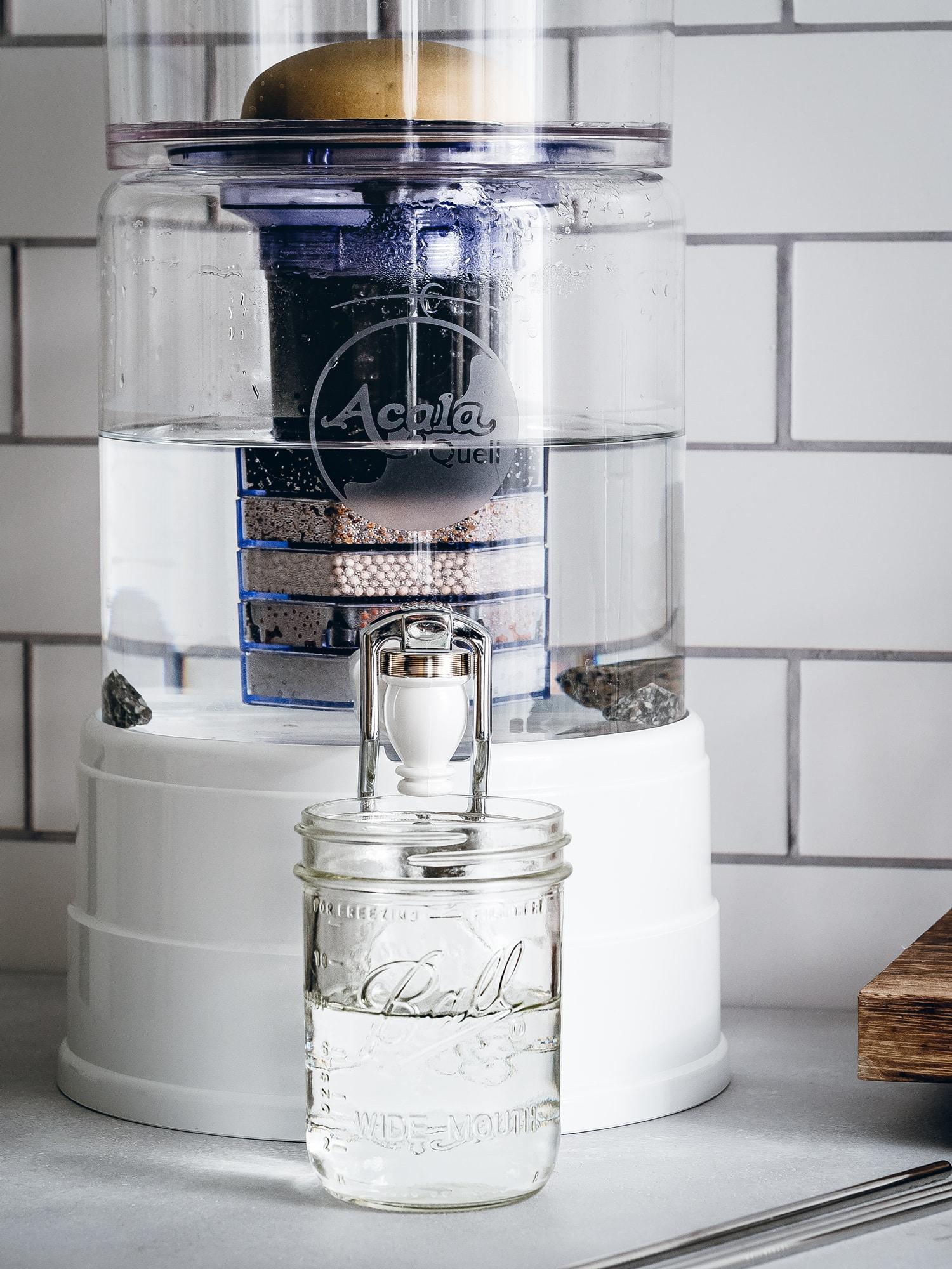 Die Filter des Acala Wasserfilters