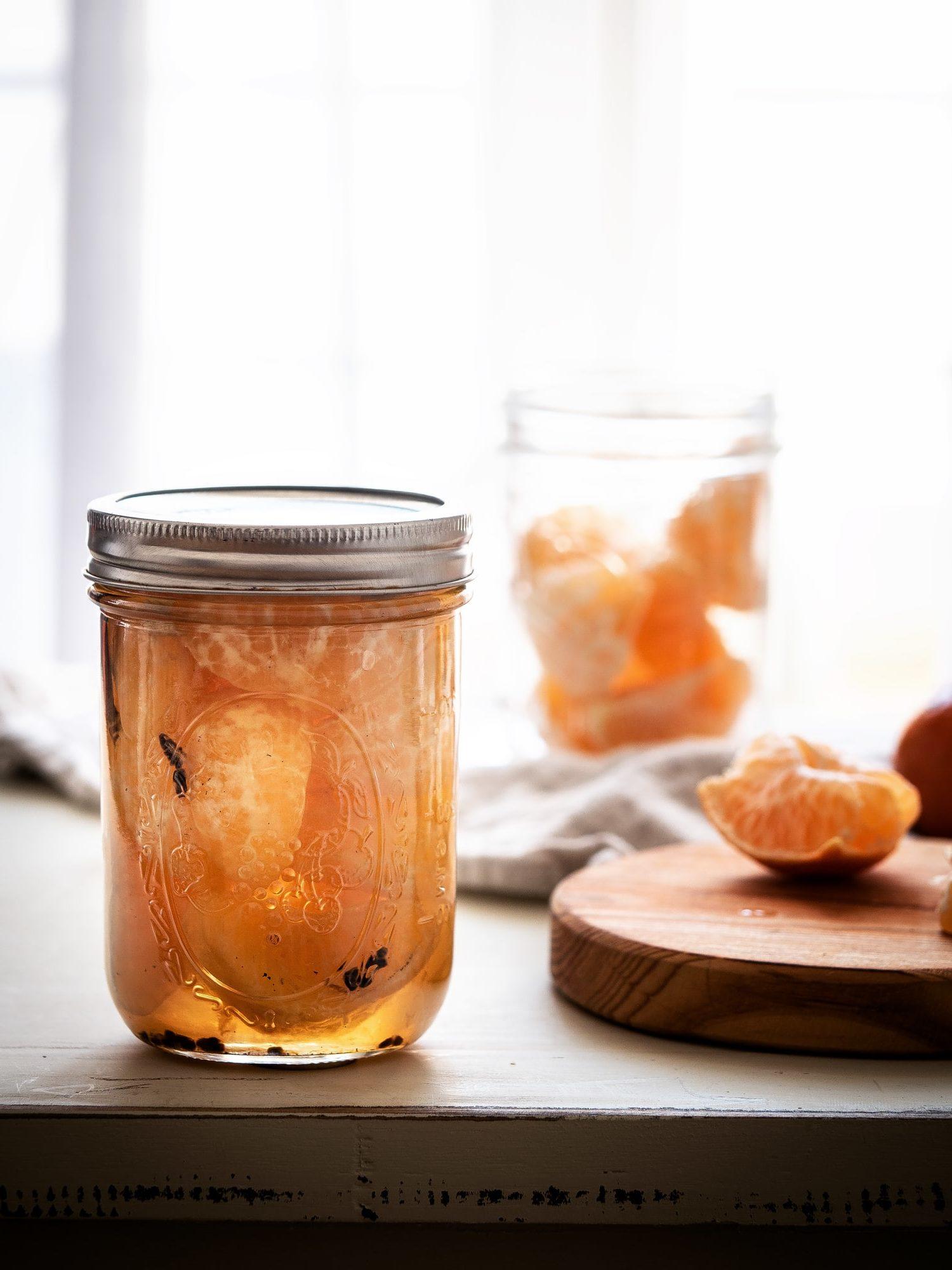 Mandarinen einkochen - winterlich gewürzt mit Kardamom und Vanille