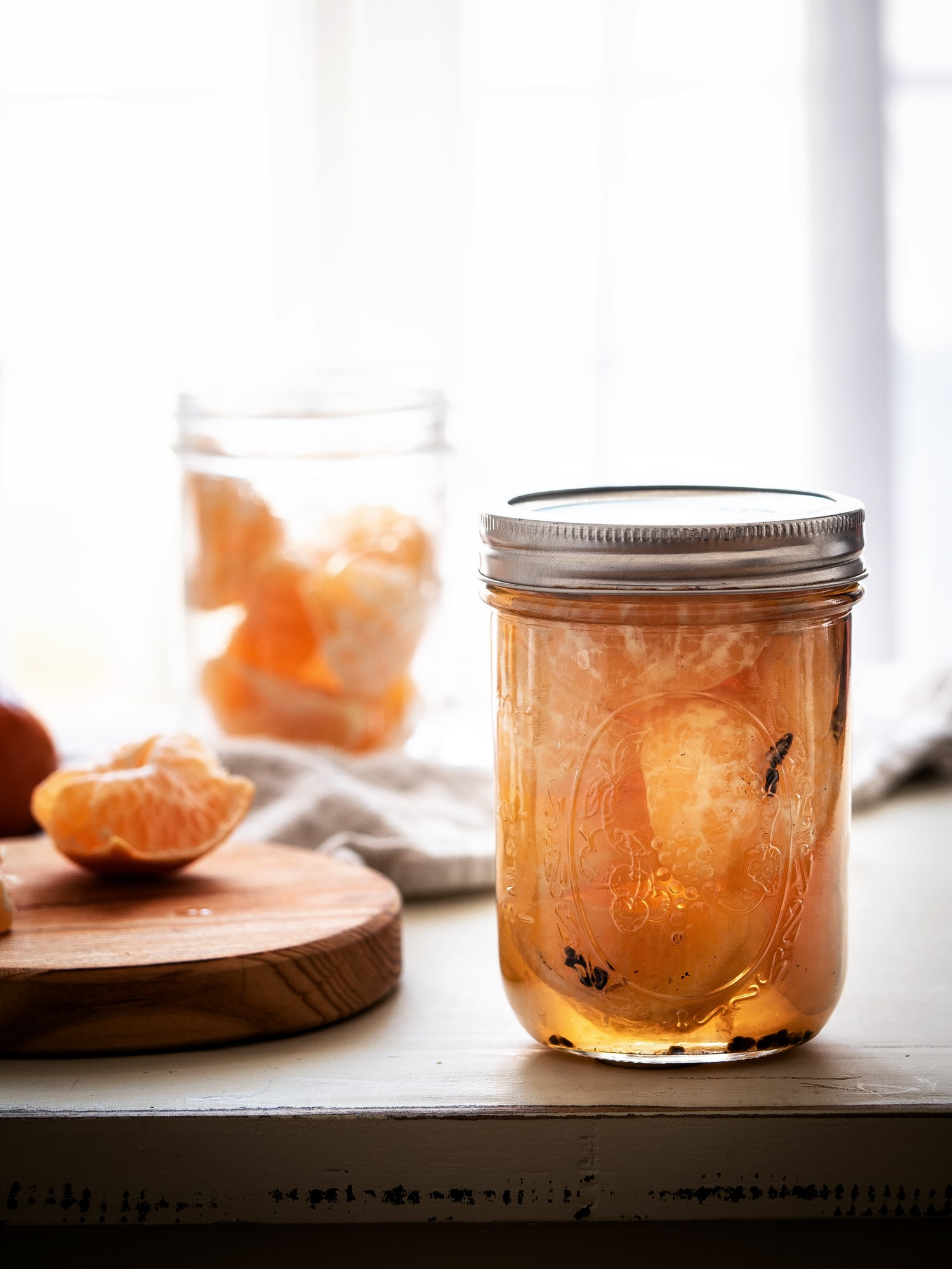 Mandarinen einkochen – winterlich gewürzt mit Kardamom und Vanille