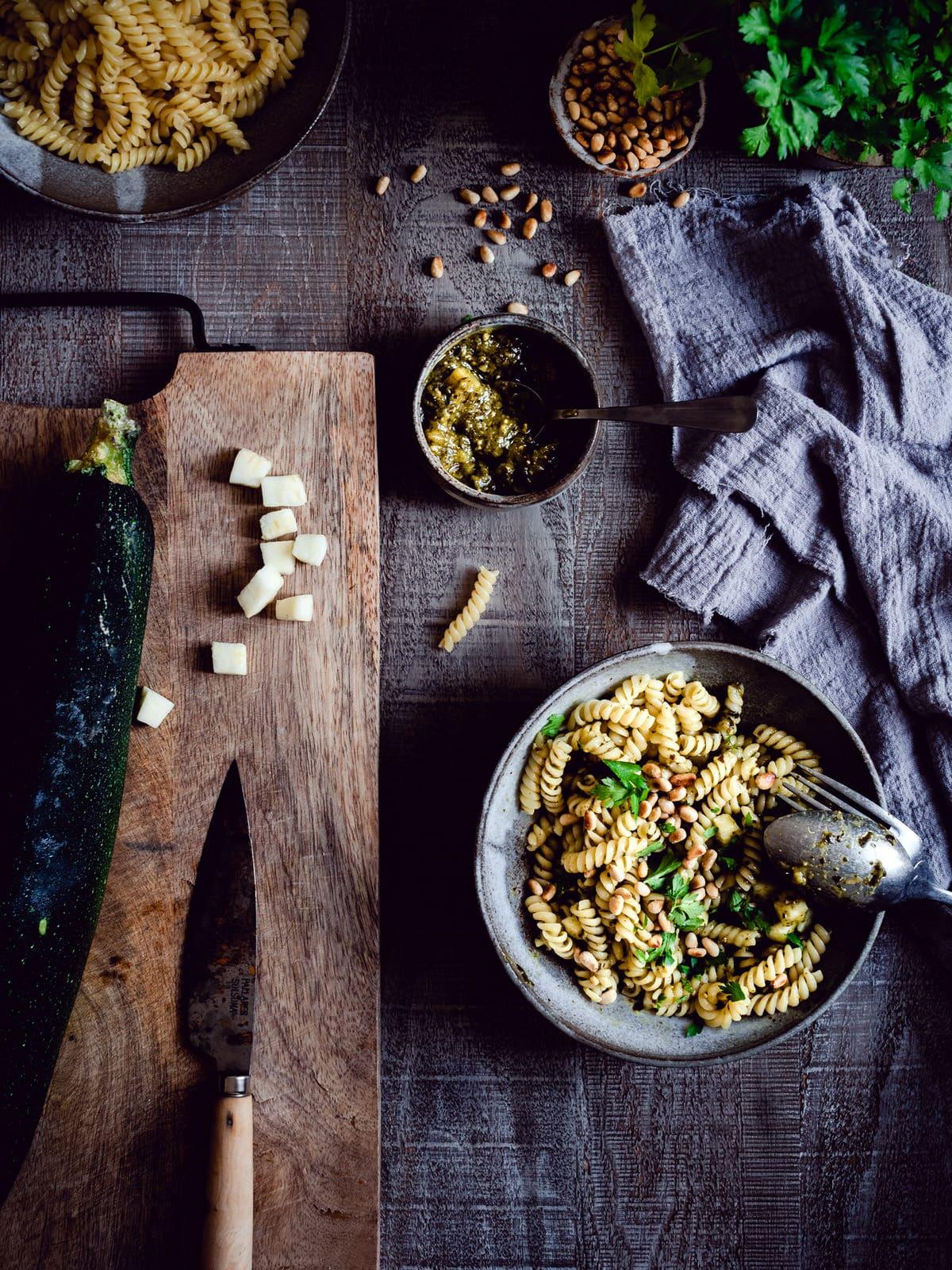 Zucchini Pesto Rezept